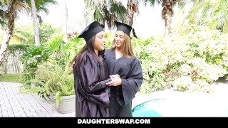 Daughter Swap- Daughters Learn Sex From Dad's Best Friend Reality outside