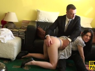 Petite Summer Lin Fucking, English sub cockriding after getting spanked Hardcore Pornstar Euro Rough