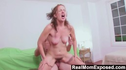 RealMomExposed - Mommy Gives a Happy Ending