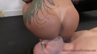 Ryan Conner Femdom and Ass Worship  kink butt ass worship big booty fake tits big tits facesitting femdom