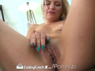 CastingCouch-X – Girl next door Alex Little first porn audition