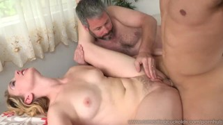 Zoe Parker and Husband Cock Sucking Work Out With Trainer  gay sex big cock masturbation cuckold wife husband blowjob bisexual cumeatingcuckolds bull 3some fmm cum eating