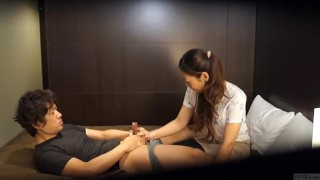 In japanese wrong subtitled massage hd gone hotel hd japan