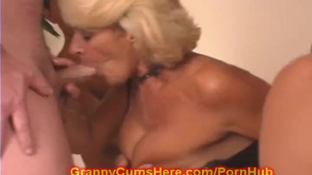 Granny cum here My granny is a gang bang whore