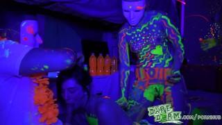 Glow fuckfest party daredorm daredorm orgy