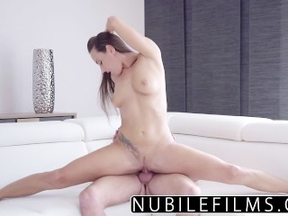 Slut talking dirty nubilefilms - hardcore creampie for college babe