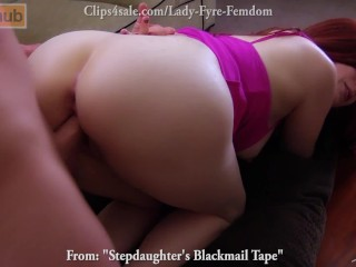 Stepdaughter's Sex Tape FULL VERSION Lady Fyre Fauxcest