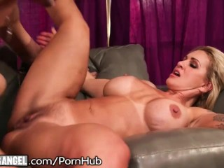 Huge Tits Cougar Takes it Up the Butt