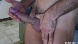 Horny guy wank and cum!
