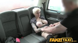 FakeTaxi Hot passionate rough backseat sex
