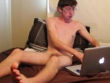 18yr old Jerking Off To Porn