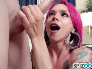 Anna Bell Peaks Blows Everyone