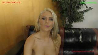 Anikka Albrite POV Cuckold Blowjob kink blonde femdom cuckold