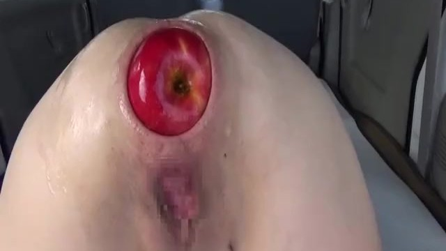 Extreme anal insertion and stretching Extreme anal fisting and giant apple insertions