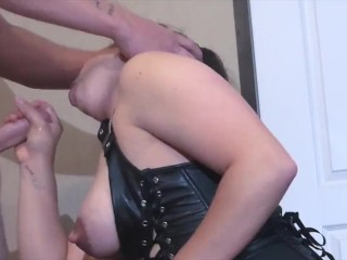 Bbw Ass Finger Drunk Milf Swallows Cum