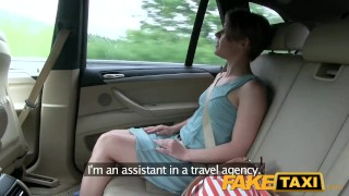 FakeTaxi Passenger rides her biggest thick cock  car sex short hair point of view big cock babe innocent prague blowjob amateur pov camera faketaxi spycam reality czech dogging