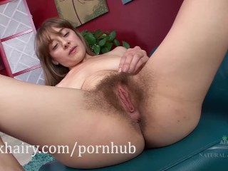 Clara Brown gives a tour of her hairy body