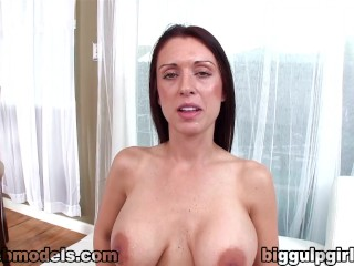 Bea big tits naked in public