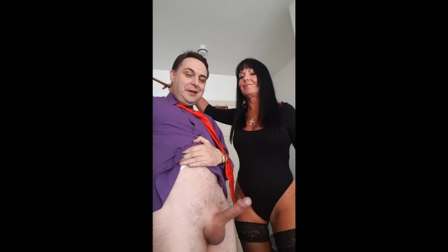 Africa tribe penis Ballbusting: donna africa kicks andrea diprè in the balls till he cums