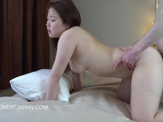 Japanese Model Yukina – First Time with White Guy