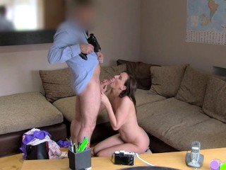 Underground Teen Sex Fucking, FakeAgentUK: Cheating MILF shows amazing fucking skills Brunette MILF Pornstar Casting British