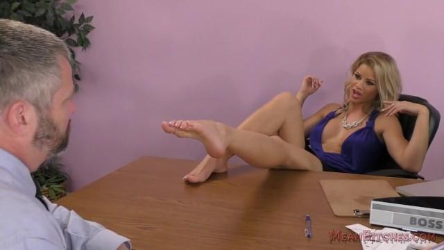 Office milf licking - Jessa rhodes femdom office