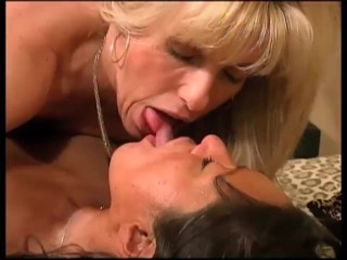 2 Mature Women Take On A Young Guy, A Messy and Fun MFF Threesome
