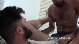 Deep amateur throat hairy oral throat