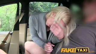 FakeTaxi Big tits and great curvy body sucks dick Blowjob not