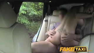 FakeTaxi Big tits and great curvy body sucks dick Big cum