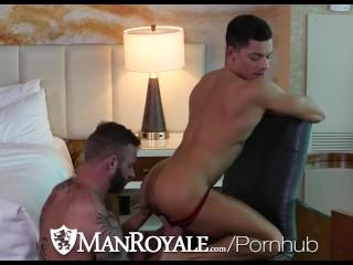 ManRoyale Dirty Daddy Derek Parker Pounds Ethan Slade