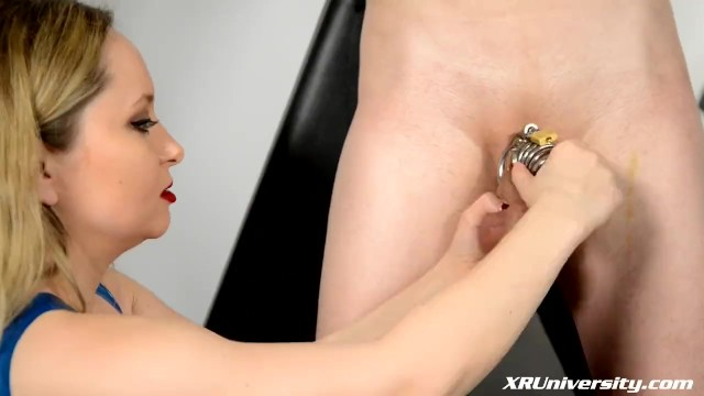 The wimp porn Male chastity with jay wimp