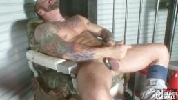 Rough Muscle Daddy Hugh Hunter