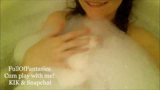 Sexy Amateur Bubble Bath & Shower Snapchat Compilation #6