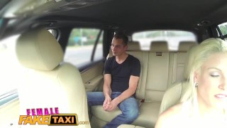 Preview 1 of FemaleFakeTaxi Busty blonde rides studs cock