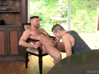DylanLucas Daddy Cop Seduces Twink