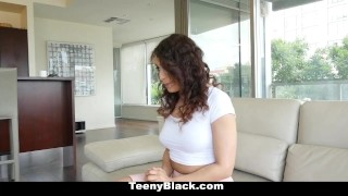 Busty rammed ebony and kinky teenyblack black interracial