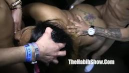 dominican leona banks gangbanged freestyle macana man donny sins