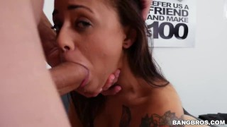 Holly casting hendrix with petite fucking