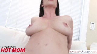 Naughty and good gets tits america hard natural fucked rayveness milf blowjob big