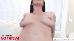 Natural tits MILF Rayveness gets fucked good and hard - Naughty America