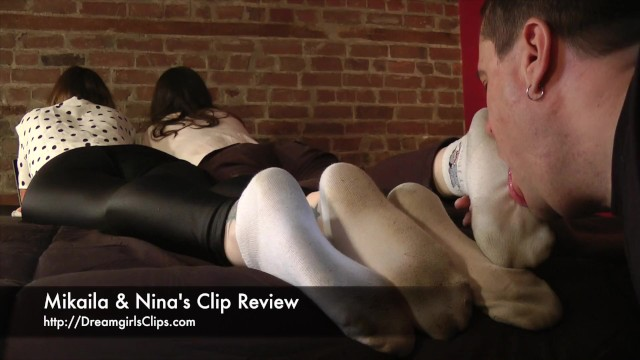 Clip fetish sniffing stocking video Mikaila ninas clip review - www.clips4sale.com/8983/15877664