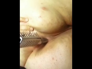 Ts Pussy Sex Bbw Fucking Her Ass With A Hairbrush, Big Ass Bbw Anal British