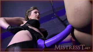 huge strapon fucking  bondage ass fuck female domination adult toys big strapon beautiful mistress