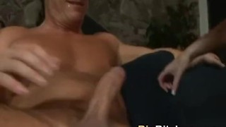 Facial with cumswallow after tiifucking hot blonde