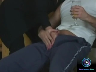 Cum in mouth fitting ending for Tiffany and Mr. Clark