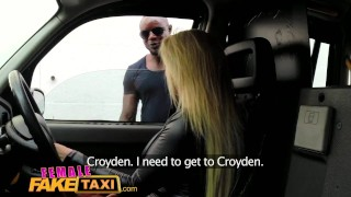 FemaleFakeTaxi Big black cock makes cabbie cum