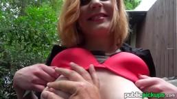 Mofos – Ryta – Eager Babe Flashes Big Natural Tits
