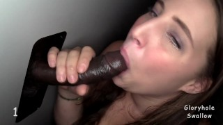 Penny 1st Time Gloryhole  interracial virgin big black cock gloryhole swallow bbw blowjobs random strangers cum swallow strangers gloryhole anonymous glory hole cum slut first time cum in mouth adult bookstore monster cock first black cock