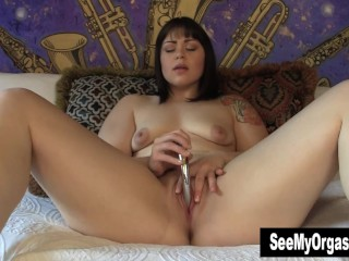 Chubby Sarah Masturbating With Toy